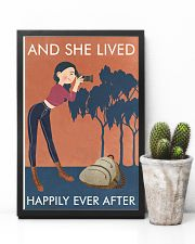 Vintage Orange And She Lived Photography 11x17 Poster lifestyle-poster-8