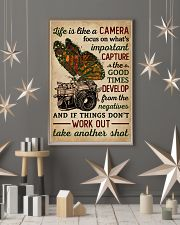 Life Is Like A Camera Butterfly  11x17 Poster lifestyle-holiday-poster-1