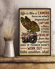 Life Is Like A Camera Butterfly  11x17 Poster lifestyle-poster-3