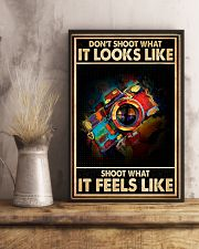 Shoot What It Feels Like Camera 16x24 Poster lifestyle-poster-3