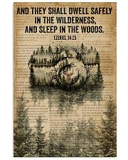 Forest Bible Sleep In The Woods Camera 11x17 Poster front