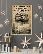 Forest Bible Sleep In The Woods Camera 11x17 Poster lifestyle-holiday-poster-1