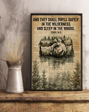 Forest Bible Sleep In The Woods Camera 11x17 Poster lifestyle-poster-3