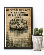 Forest Bible Sleep In The Woods Camera 11x17 Poster lifestyle-poster-8