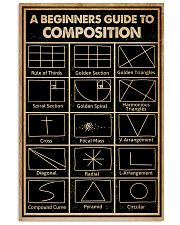 Black A Beginners Guide To Composition Photography 16x24 Poster front
