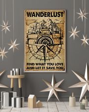 Vintage Map Camera Wanderlust 11x17 Poster lifestyle-holiday-poster-1
