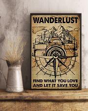 Vintage Map Camera Wanderlust 11x17 Poster lifestyle-poster-3