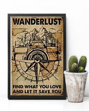 Vintage Map Camera Wanderlust 11x17 Poster lifestyle-poster-8