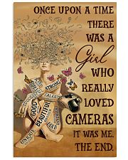 Once Upon A Time Girl Loved Cameras 16x24 Poster front