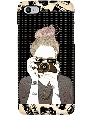 Tattooed Girl Taking Picture Phone Case i-phone-8-case