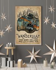 Blue Earth Dictionary Wanderlust Camera 11x17 Poster lifestyle-holiday-poster-1