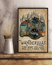 Blue Earth Dictionary Wanderlust Camera 11x17 Poster lifestyle-poster-3