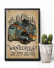 Blue Earth Dictionary Wanderlust Camera 11x17 Poster lifestyle-poster-8