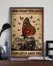 Dictionary  Find What You Love Camera 16x24 Poster lifestyle-poster-2