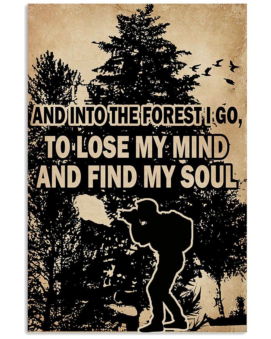 And In To The Forest I Go Camera 11x17 Poster