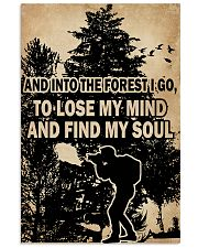 And In To The Forest I Go Camera 11x17 Poster front