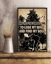 And In To The Forest I Go Camera 11x17 Poster lifestyle-poster-3