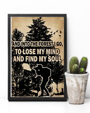 And In To The Forest I Go Camera 11x17 Poster lifestyle-poster-8