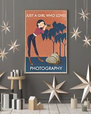 Vintage Orange Just A Girl Photography 11x17 Poster lifestyle-holiday-poster-1