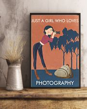 Vintage Orange Just A Girl Photography 11x17 Poster lifestyle-poster-3
