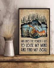 Blue Earth Dictionary Find My Soul Camera 11x17 Poster lifestyle-poster-3