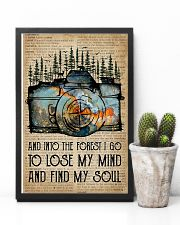 Blue Earth Dictionary Find My Soul Camera 11x17 Poster lifestyle-poster-8