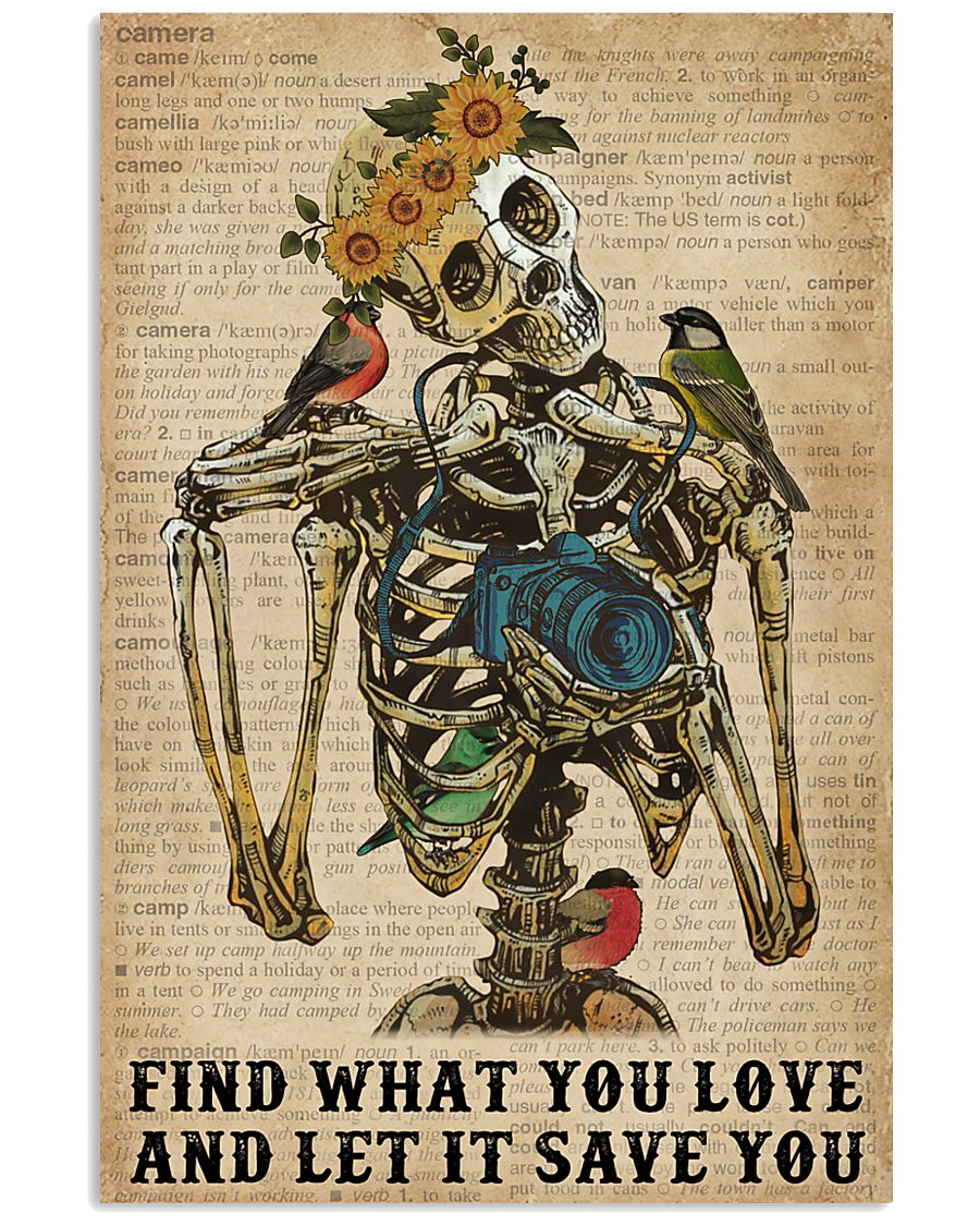 Dictionary Skeleton Find What Photography 11x17 Poster
