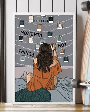 Hanging Photo Collect Moments Not Things 16x24 Poster lifestyle-poster-4