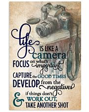 Life Is Like A Camera 11x17 Poster front