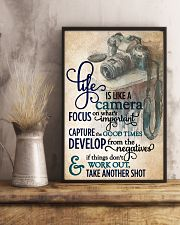 Life Is Like A Camera 11x17 Poster lifestyle-poster-3