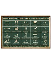 Retro Green Photography Composition 24x16 Poster front