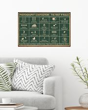 Retro Green Photography Composition 24x16 Poster poster-landscape-24x16-lifestyle-01