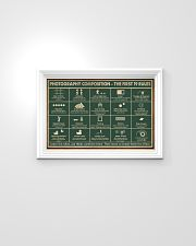 Retro Green Photography Composition 24x16 Poster poster-landscape-24x16-lifestyle-02