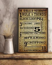 The 10 Rules Of Photography 16x24 Poster lifestyle-poster-3