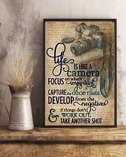 Dictionary Vinatge Life Is Like A Camera 11x17 Poster lifestyle-poster-3