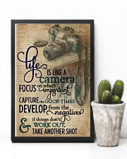 Dictionary Vinatge Life Is Like A Camera 11x17 Poster lifestyle-poster-8