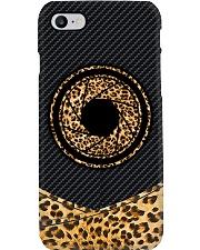 Leopard Sunflower Camera Printed Phone Case i-phone-8-case