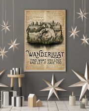 Vintage Dictionary Wanderlust Forest Camera 11x17 Poster lifestyle-holiday-poster-1