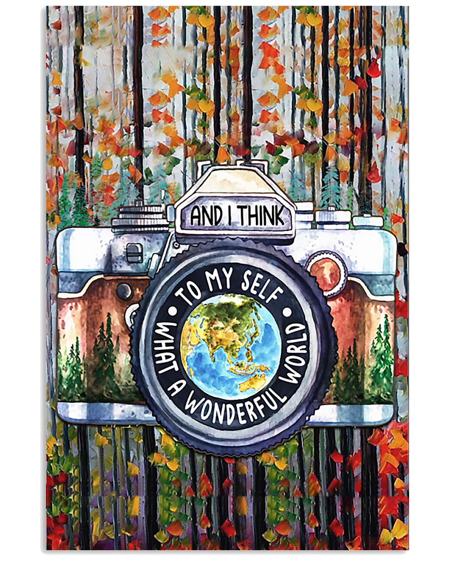 Photography What A Wonderful World 11x17 Poster