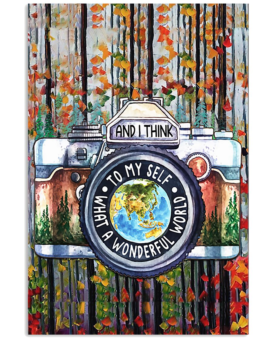 Photography What A Wonderful World 16x24 Poster