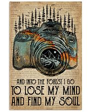 Blue Earth Dictionary Find My Soul Camera 11x17 Poster front