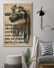 A Person With A Passion Camera Dictionary 16x24 Poster lifestyle-poster-1