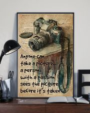 A Person With A Passion Camera Dictionary 16x24 Poster lifestyle-poster-2