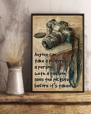 A Person With A Passion Camera Dictionary 16x24 Poster lifestyle-poster-3