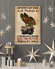 Anyone Can Take A Picture Camera Butterfly 11x17 Poster lifestyle-holiday-poster-1