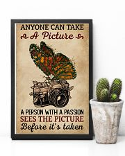 Anyone Can Take A Picture Camera Butterfly 11x17 Poster lifestyle-poster-8