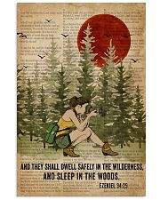 Bible Sleep In The Woods Photography 11x17 Poster front