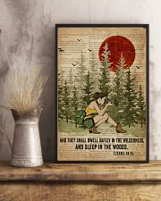Bible Sleep In The Woods Photography 11x17 Poster lifestyle-poster-3