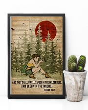 Bible Sleep In The Woods Photography 11x17 Poster lifestyle-poster-8