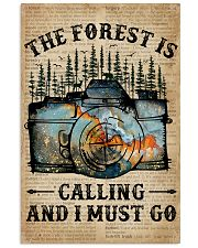 Dictionary The Forest Is Calling Camera 11x17 Poster front